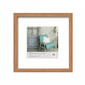 Walther Photo Frame, Wood, Beech, 11,75 x 11,75 inch (30 x 30 cm)