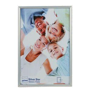 Dorr Silverstar Toskana Glossy 12x8 Photo Frame - Silver