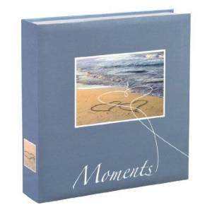 Hama Scrap Book/Photo Album Livorno 22 x 22cm 100 Pages Blue Seaside, 22 x 22 cm