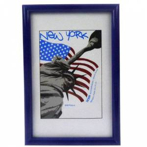Dorr 8x6 New York Photo Frame - Blue