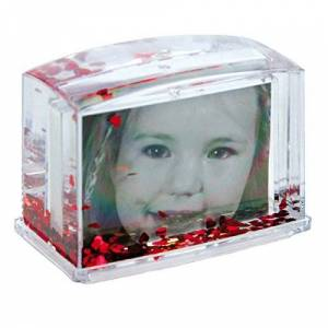Dorr Waterframe with Hearts Photo Frame - Red