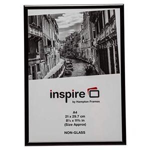 The Photo Album Company A4 Aluminium Certificate Frame, Black