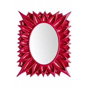 Premier Housewares Floral Photo Frame, 5 x 7 Inches - Raspberry