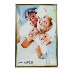 Dorr 8x6 Silverstar Toskana Photo Frame - Glossy Gold