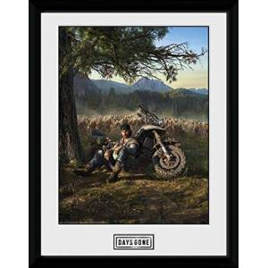 GB eye Ltd Framed Print, Multi-Colour, 16 x 12 inches
