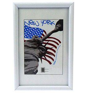 Dorr A4 New York Photo Frame - White