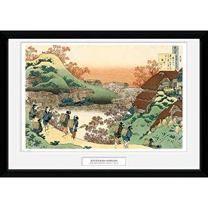 GB eye Ltd Framed Print, Multi-Colour, 50x70cm