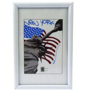 Dorr New York 6x4 Photo Frame - White