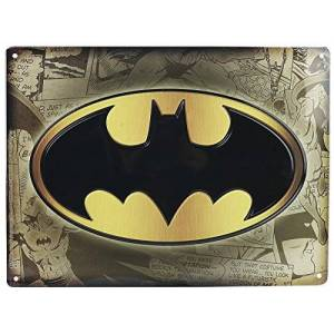 BATMAN 599386031 Metal Fig-Plate