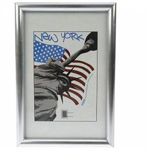 Dorr A4 New York Photo Frame - Silver