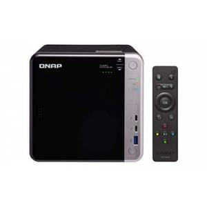 QNAP TS-453BT3-8G, 4bay, 8GB RAM, Thunderbolt 3, 10GbE ready NAS (Network-attached Storage) Enclosure