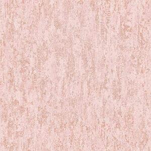 Holden Decor Distressed Metallic Pink 91211 Wallpaper