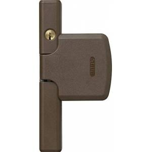ABUS FTS206 B AL0145 37392 Keyed-Alike Window Lock, Brown
