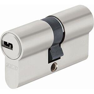 ABUS ec-SNP Cylinder Double Lap for Exterior Doors/Entries, Silver, 45003