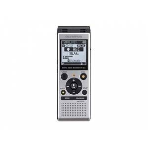 Olympus WS-852 High-Quality Digital Voice Recorder with Stereo Microphones, 7 Recording Scenes, Calendar Search, Direct USB, Voice Filter, Low- Cut Filter, Built-In Stand & 4 GB Memory