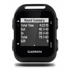 Garmin Approach G10 Compact Clip on Golf GPS Device-Black