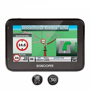 Snooper s2700 Sat Nav Pro Version with Truckmate Mapping, 4.3 Inches