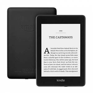 """Amazon Kindle Paperwhite Waterproof, 6"""" High-Resolution Display, 32 GBwith special offersBlack"""