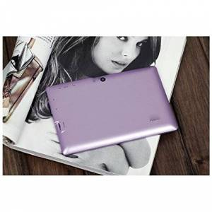 Alpentab 7-Inch Tablet (Metallic Purple) - (Allwinner A23 1.5 GHz, 4GB HDD, Android 4.4)