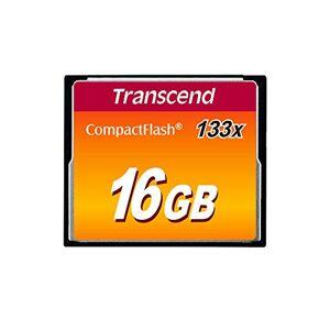 Transcend 16GB Compact Flash 133x Memory Card