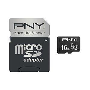 PNY Turbo Performance MicroSDHC Memory Card 16 GB Class 10 UHS-1 U3