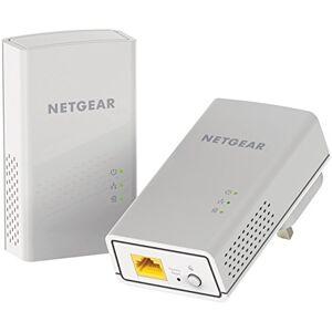 Netgear PL1000-100UKS PL1000 Powerline 1000 Mbps 1 Gigabit Ethernet Port Adapter, Homeplug Access Point