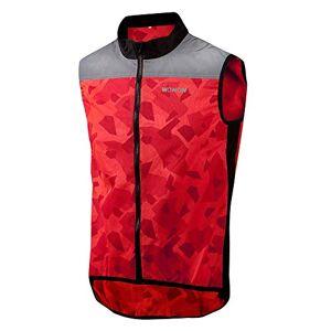 Wowow Raceviz Rysy Adult Unisex Jacket, Red, XL
