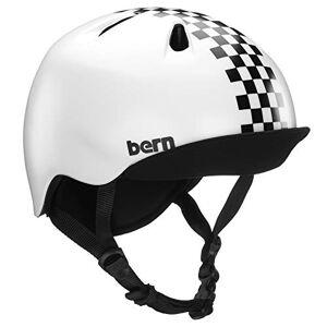 Bern Boys' Nino Cycle Helmet, Black Checkers, Extra Small