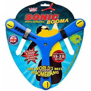 Wicked Vision Ltd Wicked Sonic Booma Sports Boomerang with Advanced Tri-blade Design, Stable & Accurate Return Flight, 15-20m Range