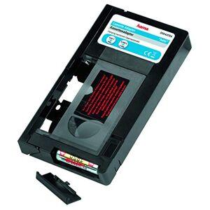 Hama 44704 Cassette adapter VHS-C/VHS, 6 mm, motorized, black