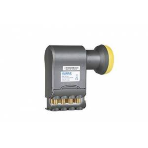 Humax LNB 182B Octo Switch (8Ports, Weather Protection, Built-in Multi-Switch, 40mm Feed) Noise 0.1dB