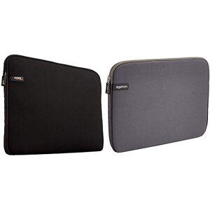 AmazonBasics Amazon Basics 13.3-Inch Laptop Sleeve - Grey & Laptop Sleeve for 13.3-Inch Laptop/MacBook Air/MacBook Pro/MacBook Pro Retina Display Black