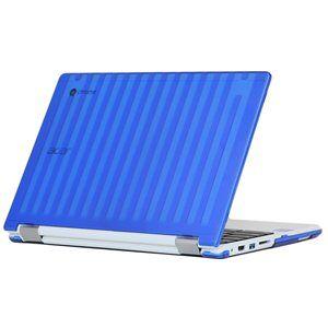 "mCover Blue Hard Shell Case for 13.3"" Acer Chromebook R13 CB5-312T Convertible Laptop (Model: R13 CB5-312T)"