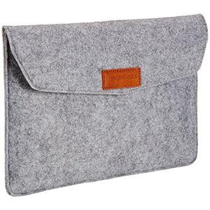 """Amazon Basics 11"""" Felt Laptop Sleeve - Light Grey"""