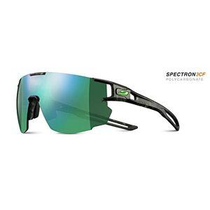 Julbo Men's Aerospeed Sunglass, Grey Tortoiseshell/Green, One Size