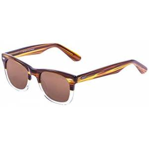 Ocean Sunglasses Ocean Lowers Sunglasses Light Brown/White Transparent Down/Brown Lens