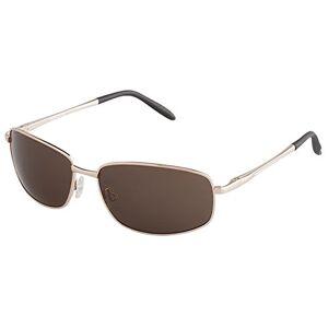 Burgmeister Men's SBM119-122 Rectangular Sunglasses, Gold