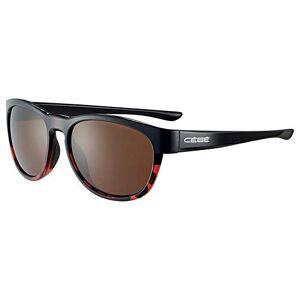 Cébé Women's Queenstown Sunglasses Shiny Black Tortoise Medium
