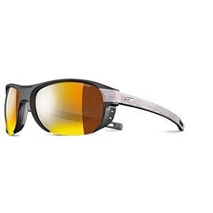 Julb6|#julbo Julbo Regatta Unisex Adult Sunglasses, Black/Wood/Gold, Size: L (Manufacturer's Size: L)