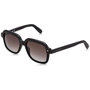 Dsquared2 Eyewear Men's MILES Sunglasses, Black (Matte Black/Gradient Green), 54.0
