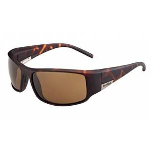 Bollã© Bolle King Sunglasses , Matte Tortoise / Dark Tlb , 12118