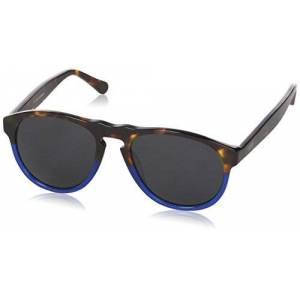 Ocean Unisex Adults' Eye Sunglasses, Brown (Havana/blu), 55