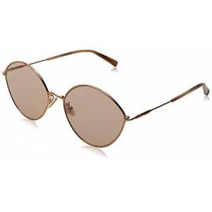 MAXMARA Women's MM CLASSY IX Sunglasses, Pink Gold, 58