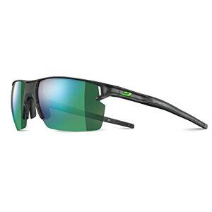 Julbo Unisex's Outline Sunglass, Grey Tortoiseshell/Green, One Size