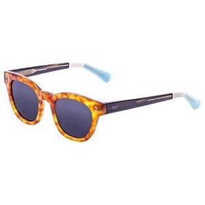 Ocean Sunglasses Santa Cruz Sunglasses Brown Ocean Red/Dark Brown/White/Blue/Smoke Lens