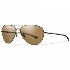 SMITH Men's Audible/N Sports Sunglasses, Brown/Brown LZ, Size 60