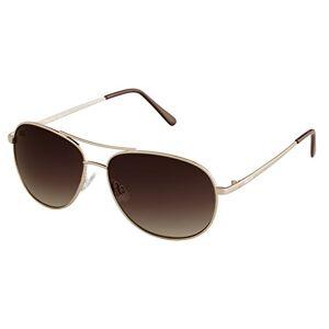 Burgmeister Men's SBM117-122 Aviator Sunglasses, Gold