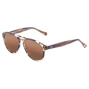 Ocean Sunglasses Ocean Adult Unisex Washington Sunglasses, Brown Stained