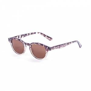 Pam3b|#paloalto Sunglasses Paloalto Sunglasses LAGUNA BEACH Sunglasses Unisex Adult Stained Brown
