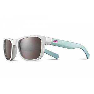 Julb6|#julbo Julbo Reach L Girls' Sunglasses, White/Mint with Fuchsia Logo, FR: S (Manufacturer's Size: 10-15 years)